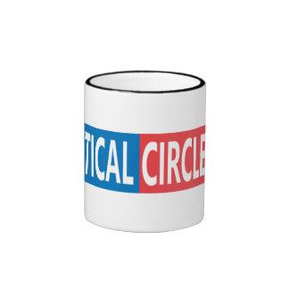 Politische CircleJerk 11oz Kaffee-Tasse Ringer Tasse