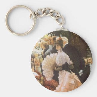 Politische Dame durch James Tissot, Vintages Schlüsselband