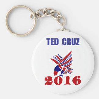 Politische Eagle Kunst Teds Cruz Schlüsselanhänger