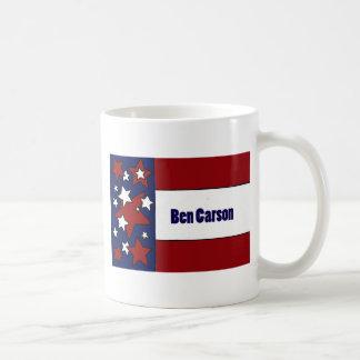 Politische Flaggen-Kunst Spaß-Bens Carson Tasse