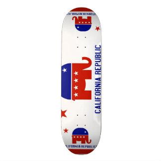 politische Kalifornien-Republik Personalisierte Skatedecks