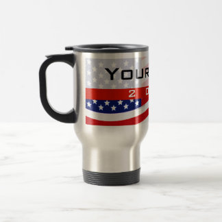 Politische Kampagne, CYO US Flagge Edelstahl Thermotasse