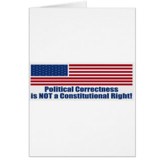 Politische Korrektheit Grußkarten