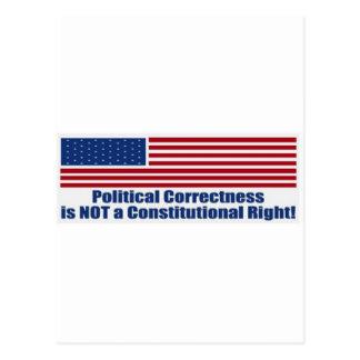Politische Korrektheit Postkarte