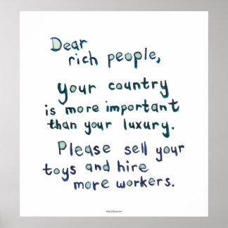 politische Korruption der wirtschaftlichen Gerecht Plakatdrucke
