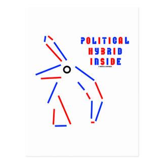 Politische Kreuzung innerhalb der Postkarte