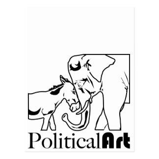 Politische Kunst Postkarten