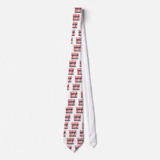 Politische Theoretikerschreckensentwürfe Personalisierte Krawatten