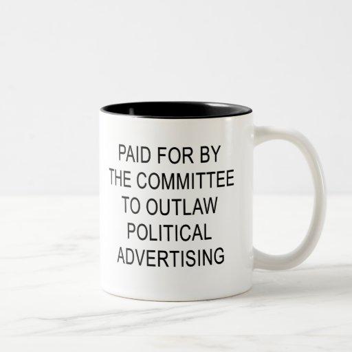Politische Werbungs-Tasse