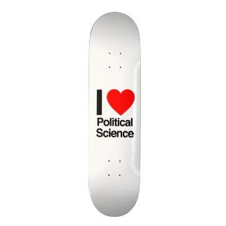 politische Wissenschaft der Liebe I Skateboard Bretter