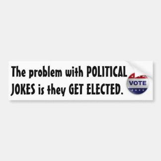 Politische Witze Autoaufkleber