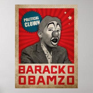 Politischer Clown Poster