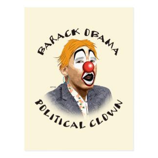 Politischer Clown Postkarten