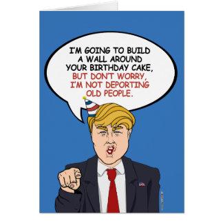 Politischer Geburtstags-Gruß Karte