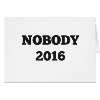 Politisches 2016 grußkarte