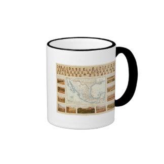 Politisches Diagramm Kaffee Tassen