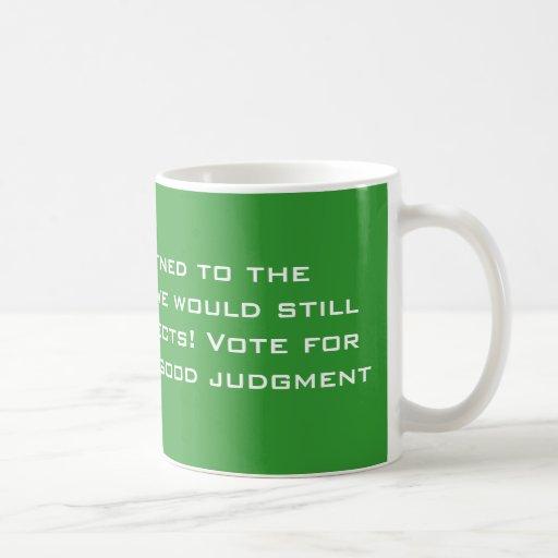 Politisches Urteil Kaffee Tasse