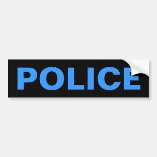 POLIZEI - blaues Logo-Emblem Autoaufkleber