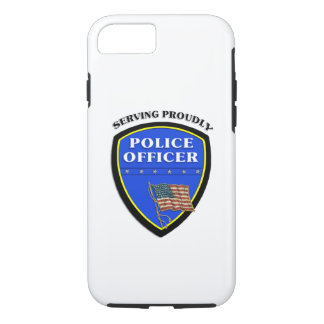 Polizei, die stolz dient iPhone 7 hülle
