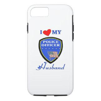 Polizei-Ehemann-Liebe iPhone 7 Hülle