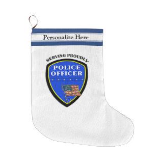 Polizei Großer Weihnachtsstrumpf