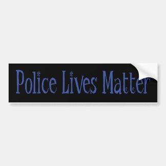 Polizei lebt Angelegenheit Autoaufkleber