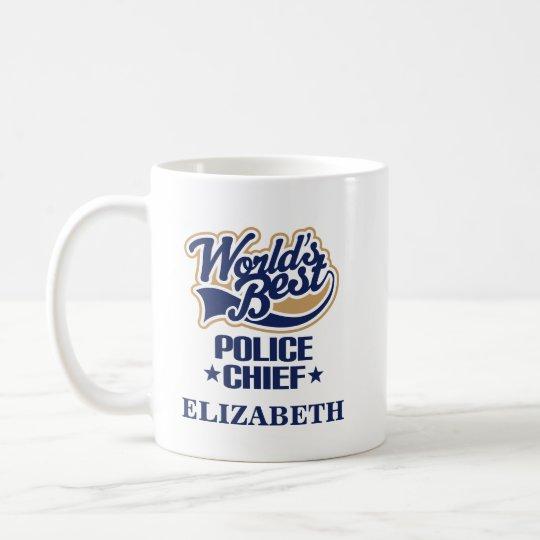 Polizei-Leiter-personalisiertes Tassen-Geschenk Tasse