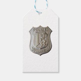 Polizei Mannheim Geschenkanhänger