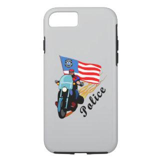 Polizei-Radfahrer iPhone 7 Hülle