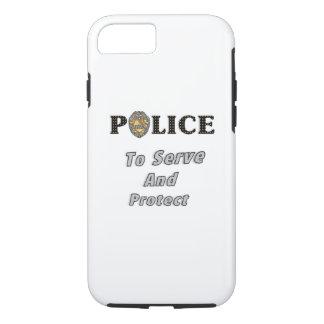 Polizei schützt sich und dient iPhone 7 hülle
