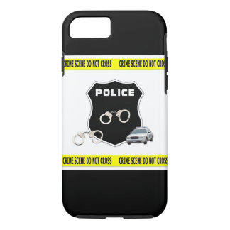 Polizei-Tatort iPhone 7 Hülle