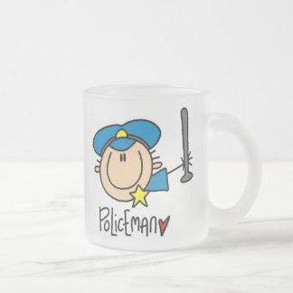 Polizist-Beruf Mattglastasse