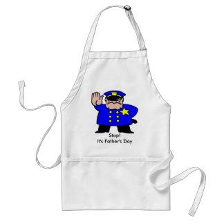 Polizist - der Vatertag Schürze