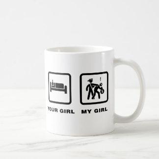 Polizist Kaffeetasse