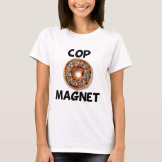 Polizist-Magnet T-Shirt