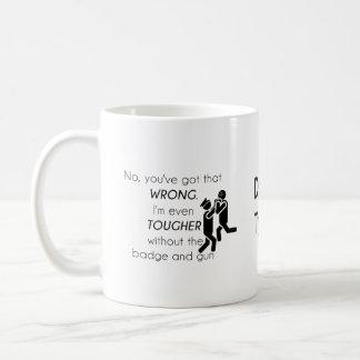 Polizist-Witz-Geschenke Tasse