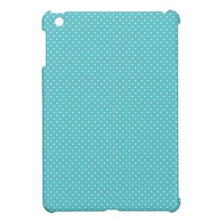 Polkapunkt-Button punktiert girly Chicblaumuster iPad Mini Schale
