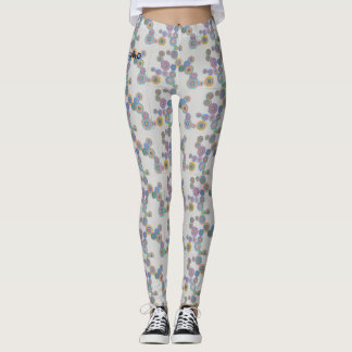 polkpolkdotdot leggings
