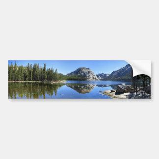 Polly Haube über Tenaya See - Yosemite Autoaufkleber