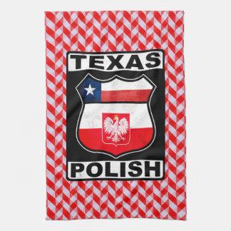 Polnische amerikanische Tee-Tücher Texas Küchentuch