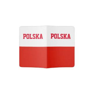 Polnischer Stolz des Flaggenpass-Halters | Polen Passhülle