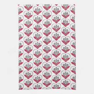 Polnisches Liebe-Küchen-Tuch Küchentuch