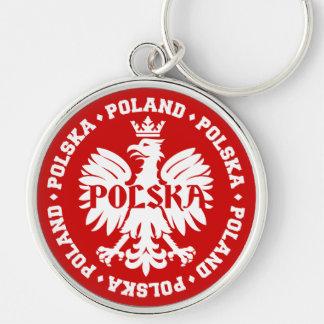 Polnisches Polska Eagle Emblem Schlüsselanhänger