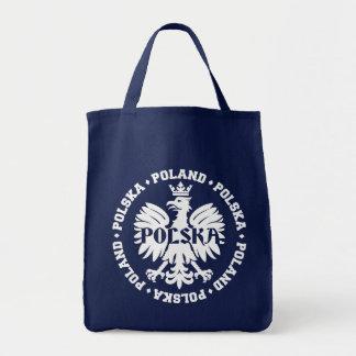 Polnisches Polska Eagle Emblem Tragetasche