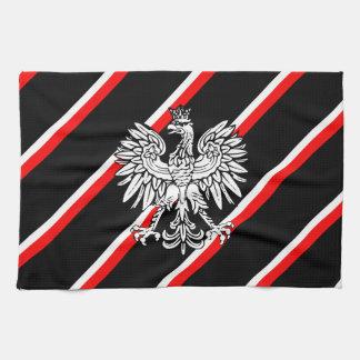 Polnisches stripes Flagge Handtuch