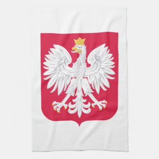 Polnisches Wappen Polens Handtuch