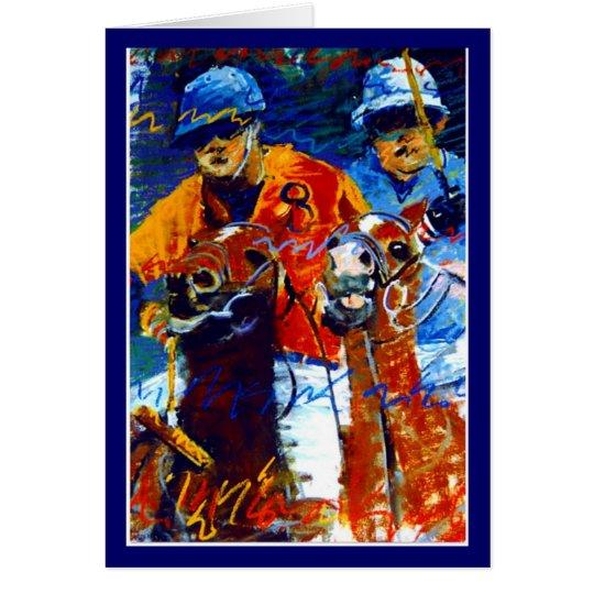 Polo-Reihe Grußkarte