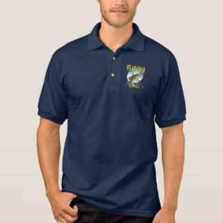 Polo-Shirt mit Fischenelementen Polo Shirt