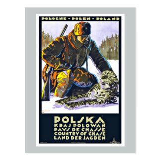 Polska Polen Vintage Reise Postkarte