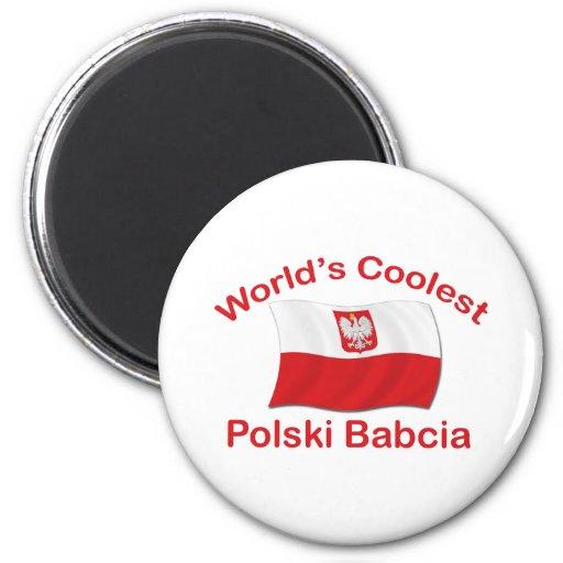 Polski le plus frais Babcia Magnets Pour Réfrigérateur